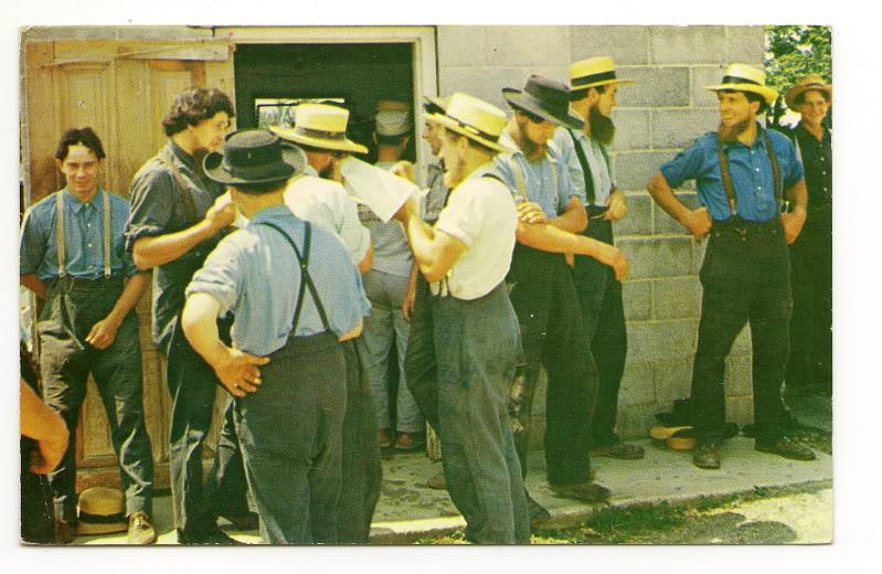 Amish Men Clothing