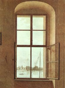caspar david friedrich the window