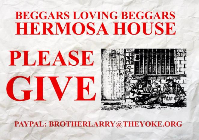 hermosa house beggars poster